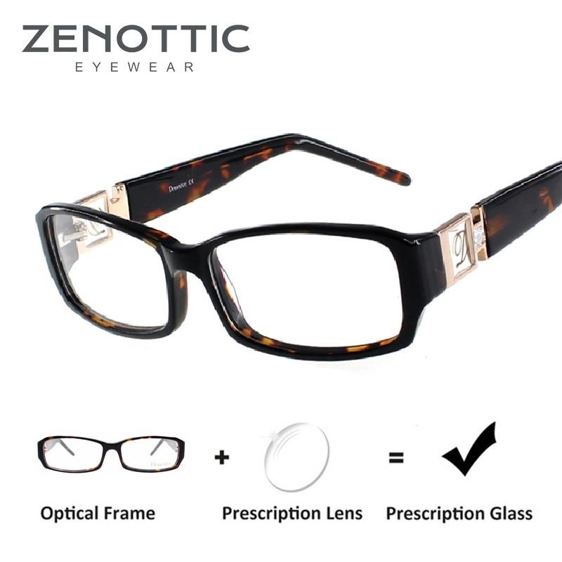 Women S Designer Frames Prescription Glasses Women Square Eyeglasses Eyewear Myopia Glasses Sport Reading Glass Oculos