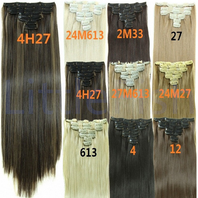 Cheap Clip On Hairpieces Products Natural