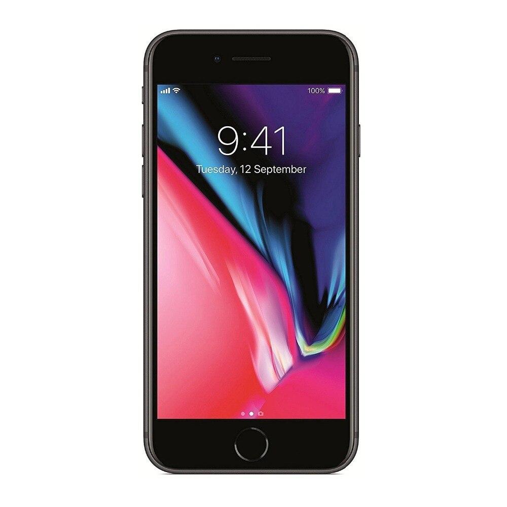 Apple iPhone 8 (64 ГБ) серебристый, Космический серый, золотой, Смартфон Apple 4G Lte (версия США), 2017 Новый мобильный смартфон 4G