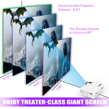 Powerful Android Full HD Mini LED Projector