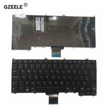 GZEELE для DELL Latitude 12 7000 Клавиатура E7440 E7420 E7240 E7420D Клавиатура ноутбука UI