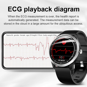 Image 3 - Smart Watch ECG PPG Smart Fitness Band Heart Rate Monitor Blood Pressure Watch Waterproof Smartwatch for IOS Android Phone Watch
