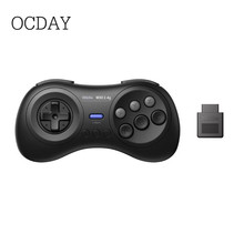 цены на 8BitDo M30 2.4G Wireless Bluetooth Player Console Gamepad Controller for Sega Genesis for Sega Mega Drive Devices в интернет-магазинах