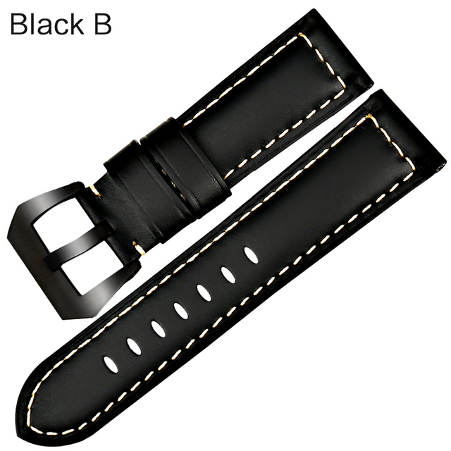 MAIKES New design vintage watch band for Fossil Genuine leather watch strap brown watch accessories for Panerai watchband   Watchbands