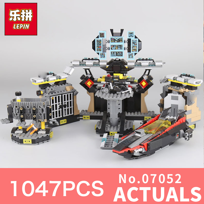 1047Pcs Lepin 07052 Genuine Movie Series 70909 Batcave Break-in Building Blocks Bricks Education DIY Toys for Christmas gift lepin 07052 super heroes movie blocks batcave break in toys for children model building blocks compatible batman 70909 christmas