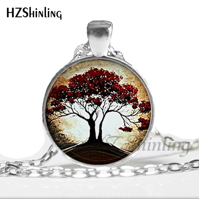 Weeping Willow Eclipse Tree Necklace