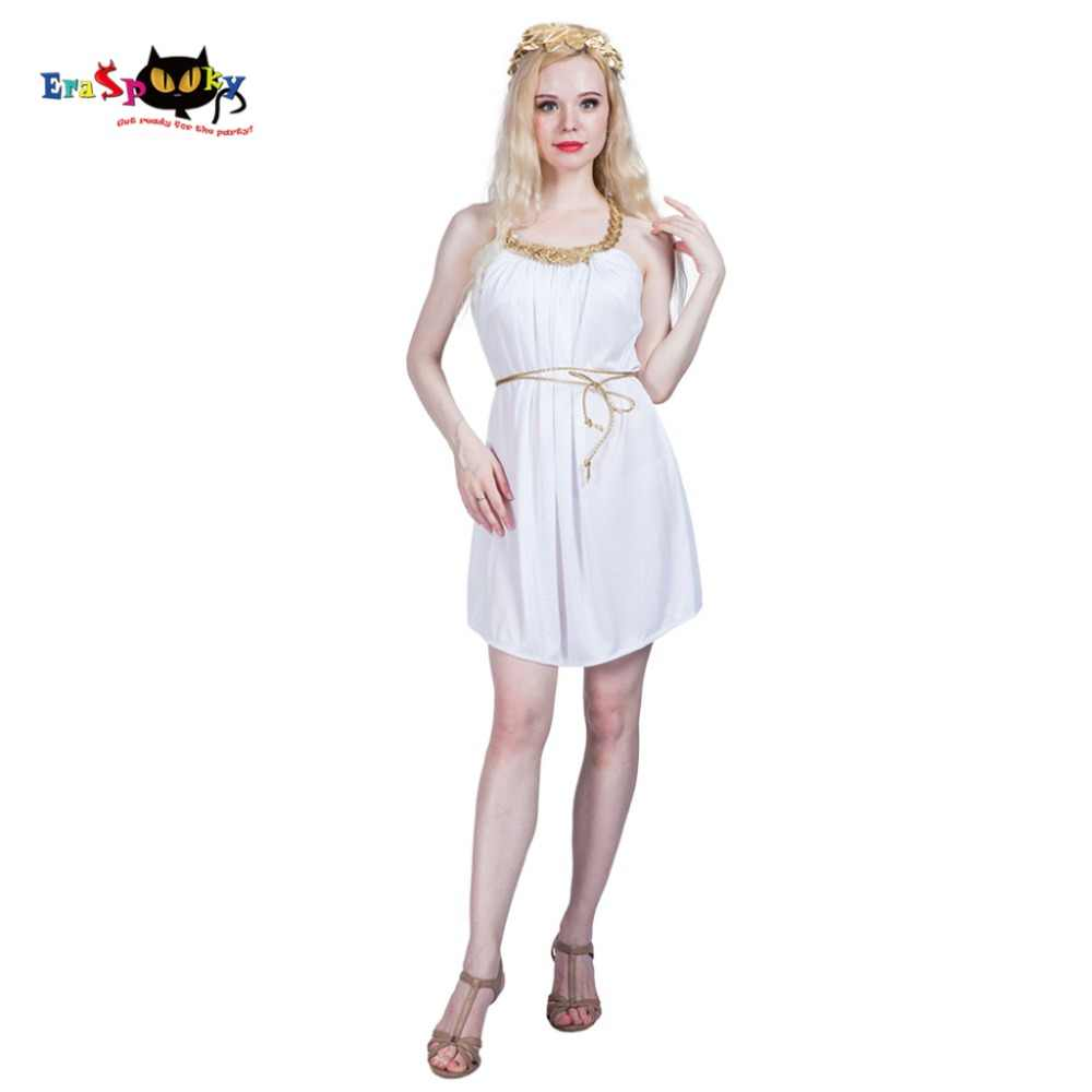 c9259bdac5a Women Sexy Ancient Roman Girl Greek Goddess Egyptian Costume Dress Cosplay  Party Fancy Dress for Female