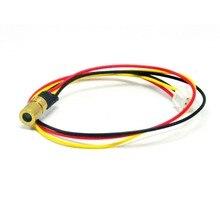 5VDC 980nm 30mW инфракрасный ИК лазерный точечный модуль с ttl 0-15 кГц 8x13 мм