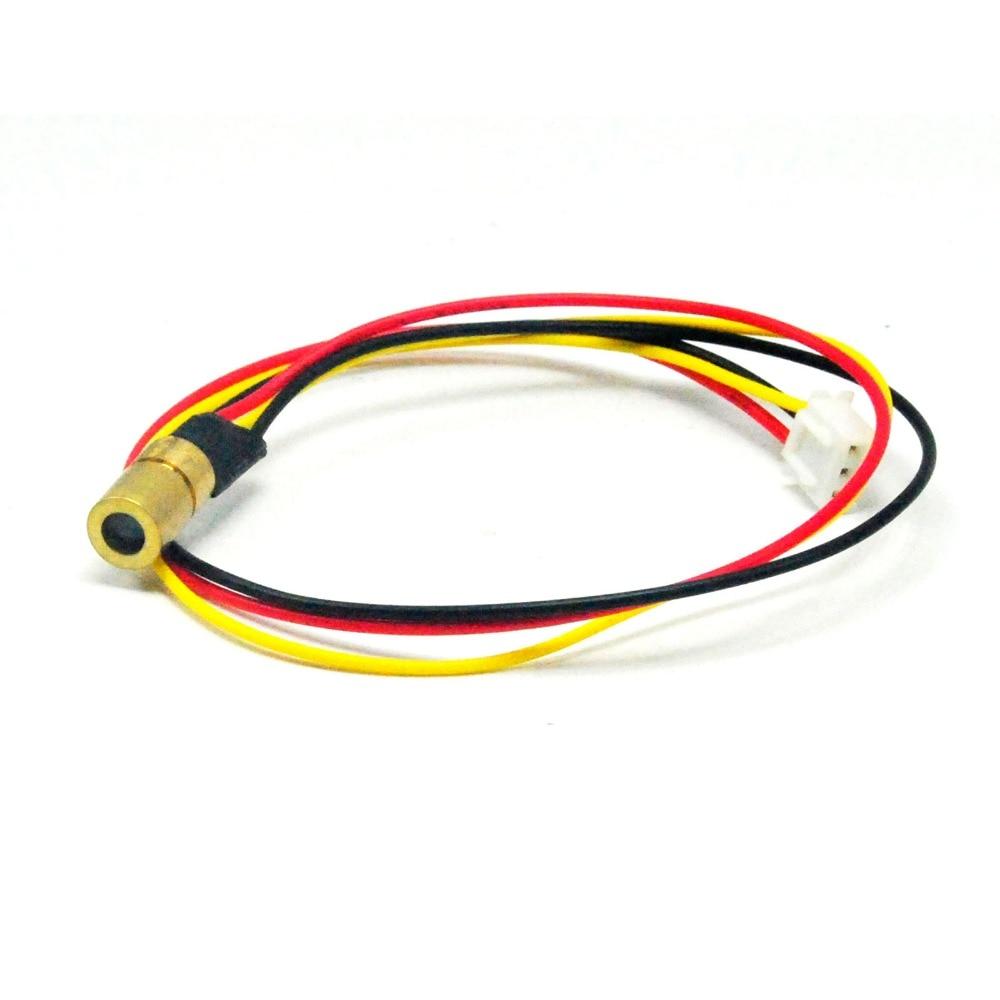 5VDC 980nm 30mW Infrared IR Laser Dot Module W/TTL 0-15KHz 8x13mm