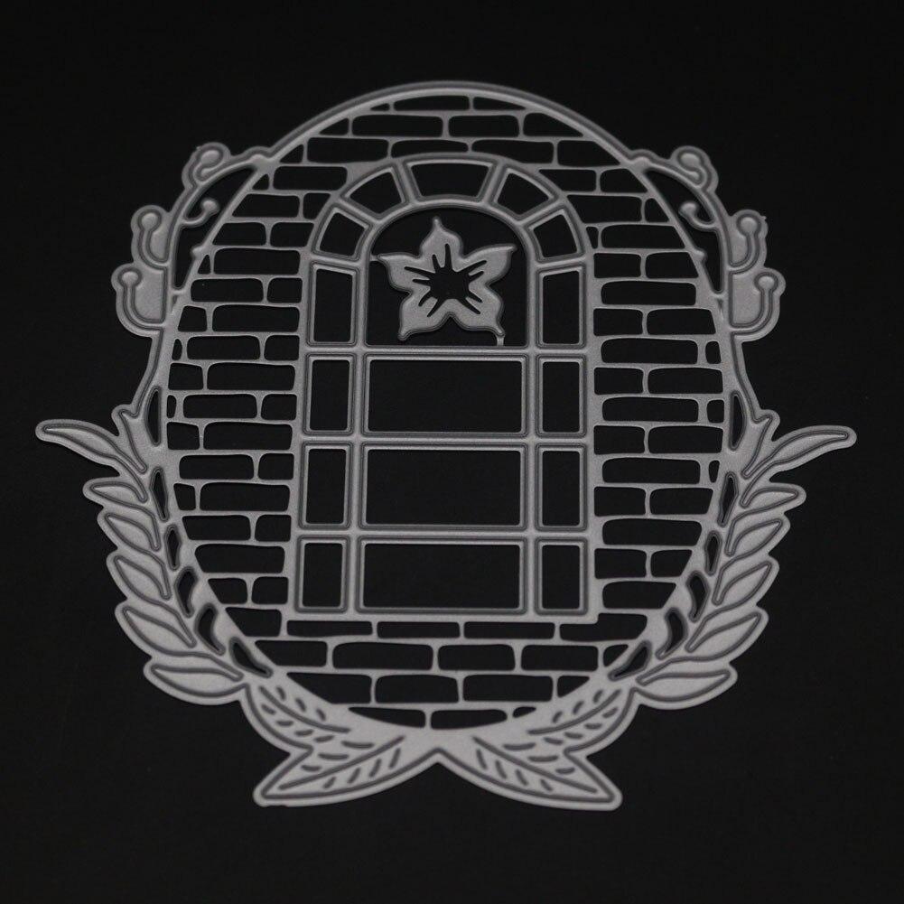 Corte de metal muere Marco de ventana caja de regalo cuadrado ...