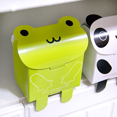 100 pcs 만화 팬더 개구리 곰 크래프트 종이 상자, 공예 초콜릿 파티 호의 웨딩 선물 포장 포장 장식 b40-에서선물가방&포장용품부터 홈 & 가든 의  그룹 1