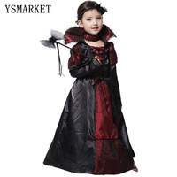 Children Girls Princess Vampire Costumes Children S Day Halloween Costume For Kids Long Dress Carnival Party