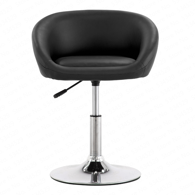 B Bar Chair Lift Chair Home Swivel Chair Nail Beauty Stool Back Makeup Chair Modern Minimalist High Stool