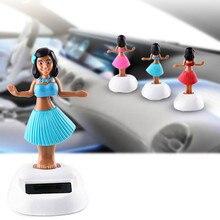Solar Energy Swinging Head Doll Automotive Interior Accessories Doll Ornaments