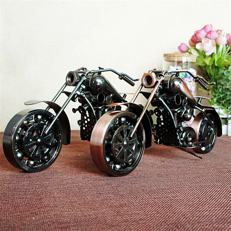 Special offer on behalf of iron car motorcycle models model craft ornaments M182 two colors optional