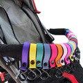 Cochecito de gancho accesorios bebé Niño vehículos color al azar solo gancho gancho de soporte de carga 2 kg juguetes de llevar dos bolsas conveniente