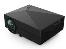 GM60 Ayuda 1080 P HD de Cine En Casa 3D Cinema HDMI USB LCD Portátil Mejor Videojuego LED Mini Proyector Proyector Beamer Projetor