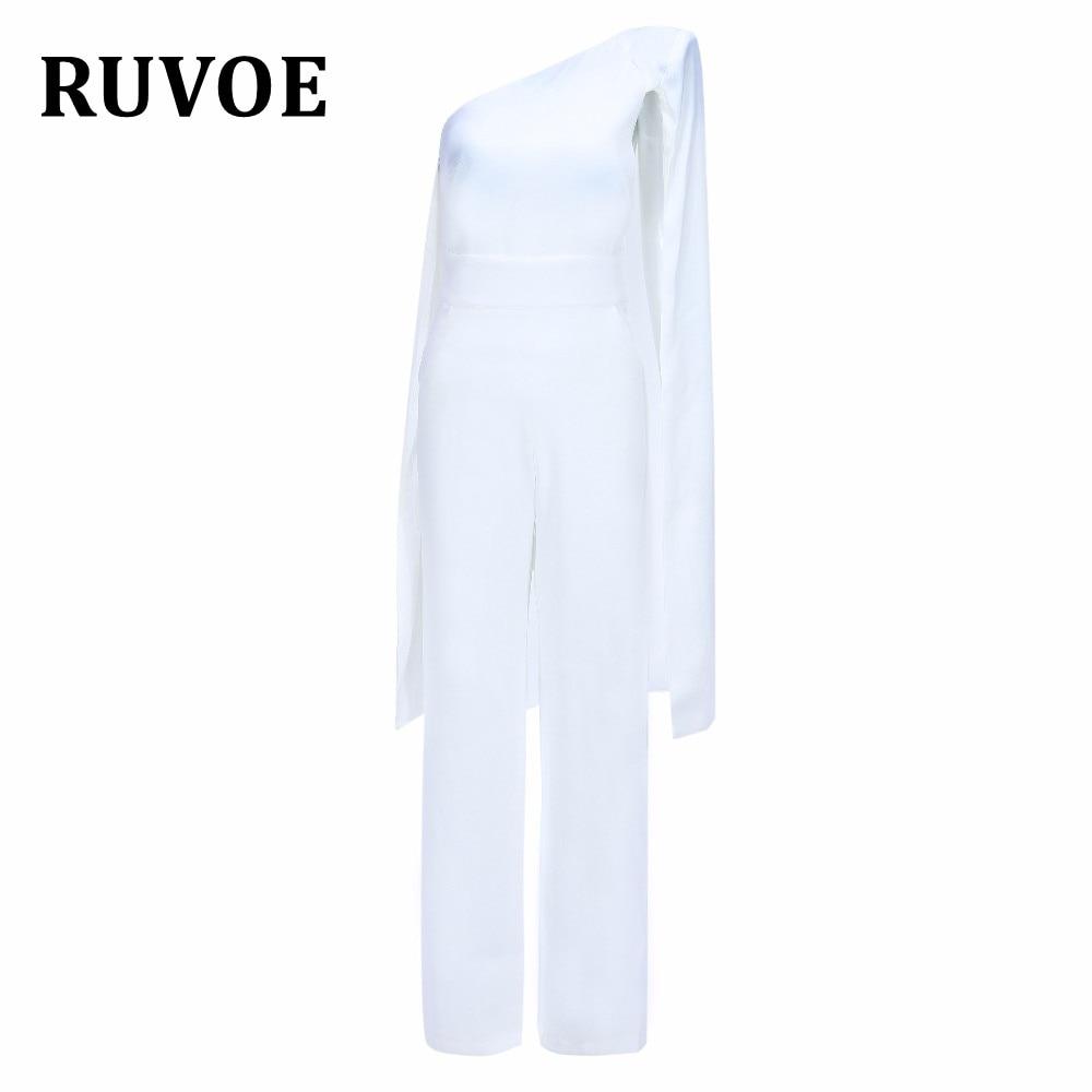Élégant Un Th Jambe Blanc Noir Haute Noir Parti Palazzo Shouder blanc 97 Cami Femmes D'été Salopette 2018 Tissu Vacances Large Taille qI6wf