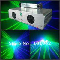 100 МВт синий фиолетовый + 40 МВт зеленый лазерный свет