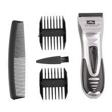 Hair Trimmer Rechargeable Electric Hair Clipper Men's Cordless Haircut Adjustable Ceramic Blade hair cutting machine haircut недорого