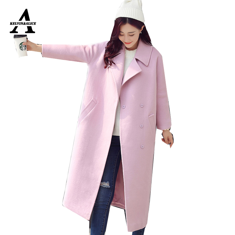Popular Pink Wool Jacket-Buy Cheap Pink Wool Jacket lots from ...