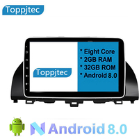 10.24 Eight Core Android 8.0 2G RAM 1024*600 Car GPS navigation For Honda accord 2018 10th WithTouch Screen android car