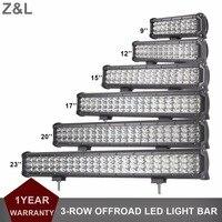 자동차 SUV 작업 빛 바 오프로드 9 12 15 17 20 23 인치 LED 표시 램프 12 볼트 24 볼트 륜구동 AWD 트랙터 트럭 픽업 운전