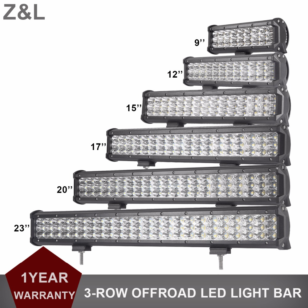 CAR SUV LED WORK LIGHT BAR OFFROAD 9 12 15 17 20'' 23 INCH LED INDICATOR LAMP 12V 24V 4WD AWD TRACTOR TRUCK PICKUP DRIVING LIGHT