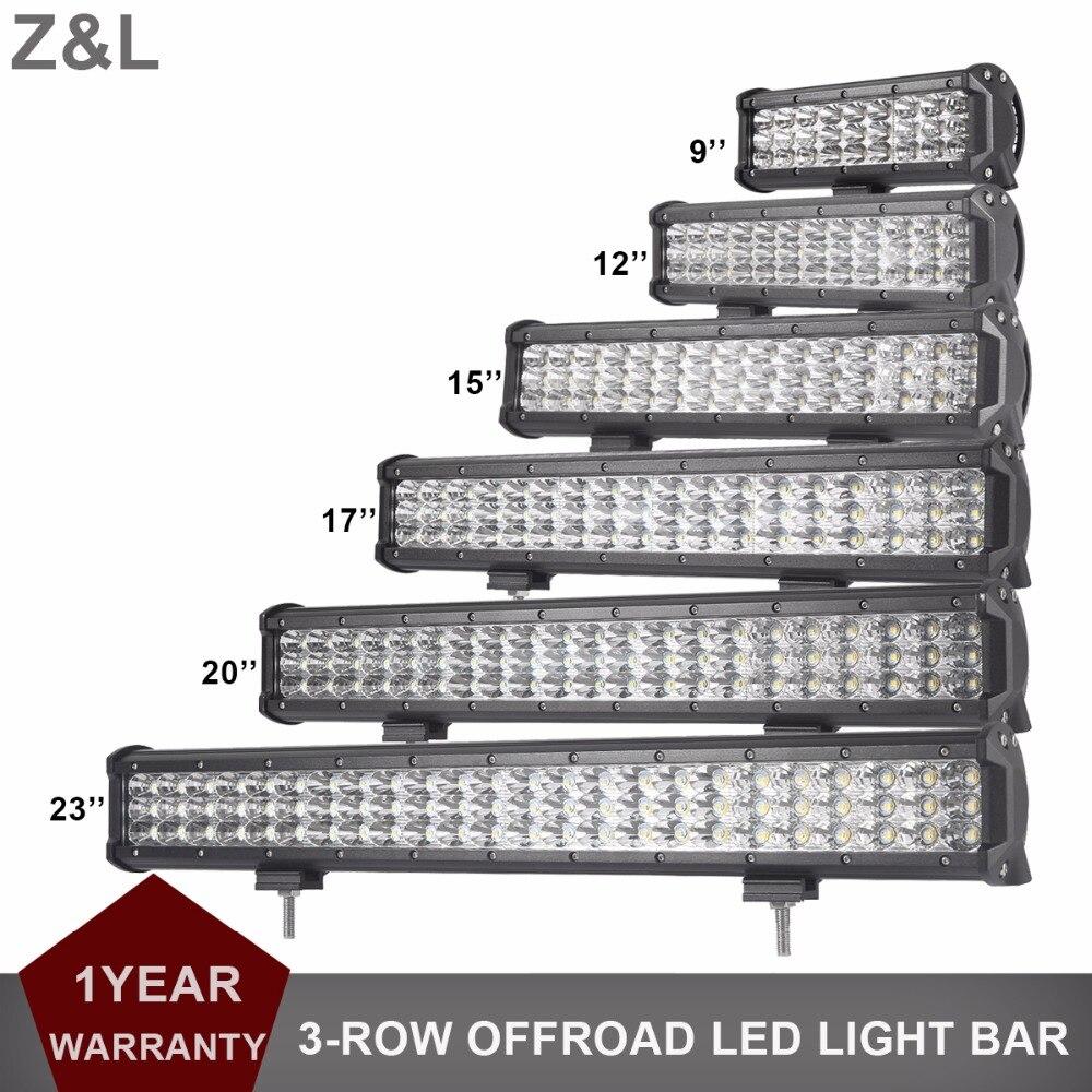 CAR SUV LED WORK LIGHT BAR OFFROAD 9 12 15 17 20'' 23 INCH LED INDICATOR LAMP 12V 24V 4WD AWD TRACTOR TRUCK PICKUP DRIVING LIGHT