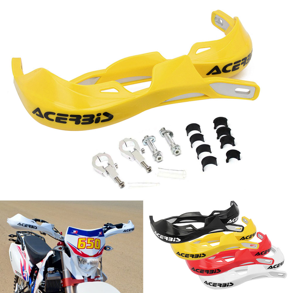 Image 3 - 1 Pair Motorcycle 22mm 28mm Handlebar Hand Guards Handguard Protector Motocross Dirt Pit Bike Off Road-in Falling Protection from Automobiles & Motorcycles