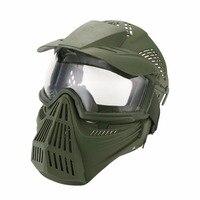 WoSporT CS full mặt mặt nạ bảo vệ Goggles ngoài trời trò chơi chiến tranh airsoft paintball dòng thiết bị thể thao Nạ Chiến Thuật bán buôn