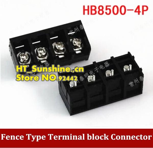6 Pin Terminal Block Škoda 1j0973713: High Quality Fence Type Terminal Block HB8500 4P Connector
