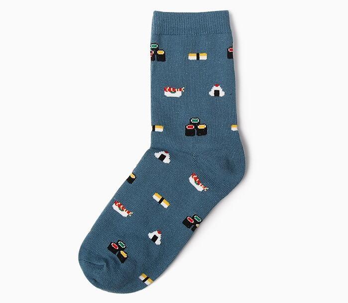 OLN 36 46 Classic Cotton Socks for Women Cute Animal Socks Cat Korean Socks Chaussette Femme 1 pairs 007