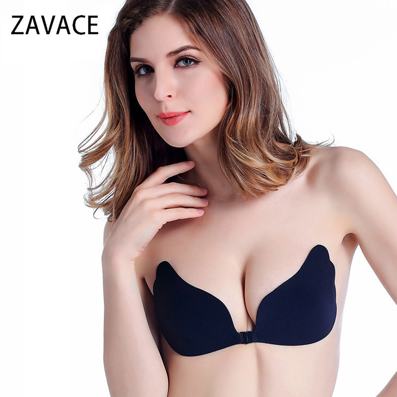 Zavace للمرأة الذاتي لاصق حمالة فراشة - ملابس نسائية
