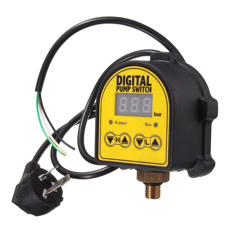 Image 4 - SWILET Digital Water Pressure Switch Eletronic Pressure Controller For Water Pump Automatic On/Off-in Switches from Lights & Lighting