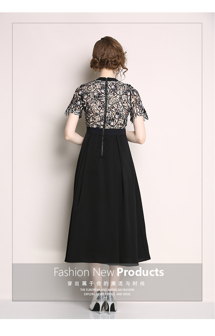2018 Autumn Winter Black Dress Women V neck A Line Mesh Feathers Lace Dress With Sashes Vintage Women Dress Plus Size Vestidos in Dresses from Women 39 s Clothing