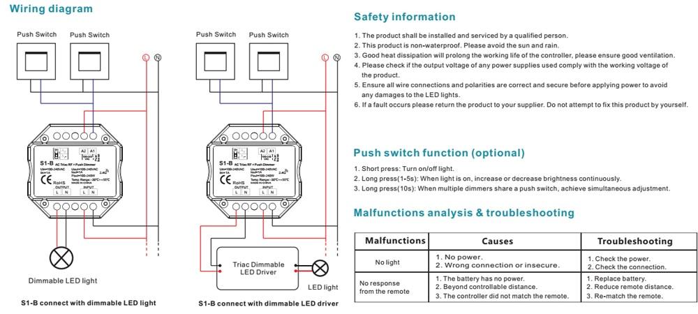 led dimmer switch 220v