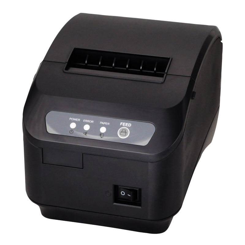 באיכות גבוהה מקורי אוטומטי-חותך 80mm תרמי קבלת מדפסת מטבח/מסעדה מדפסת קופה מדפסת