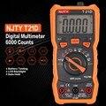 Цифровой мультиметр NJTY T21D DC/AC Измеритель Напряжения ручной Амперметр Ом диод NCV тестер 6000 отсчетов мультитестер