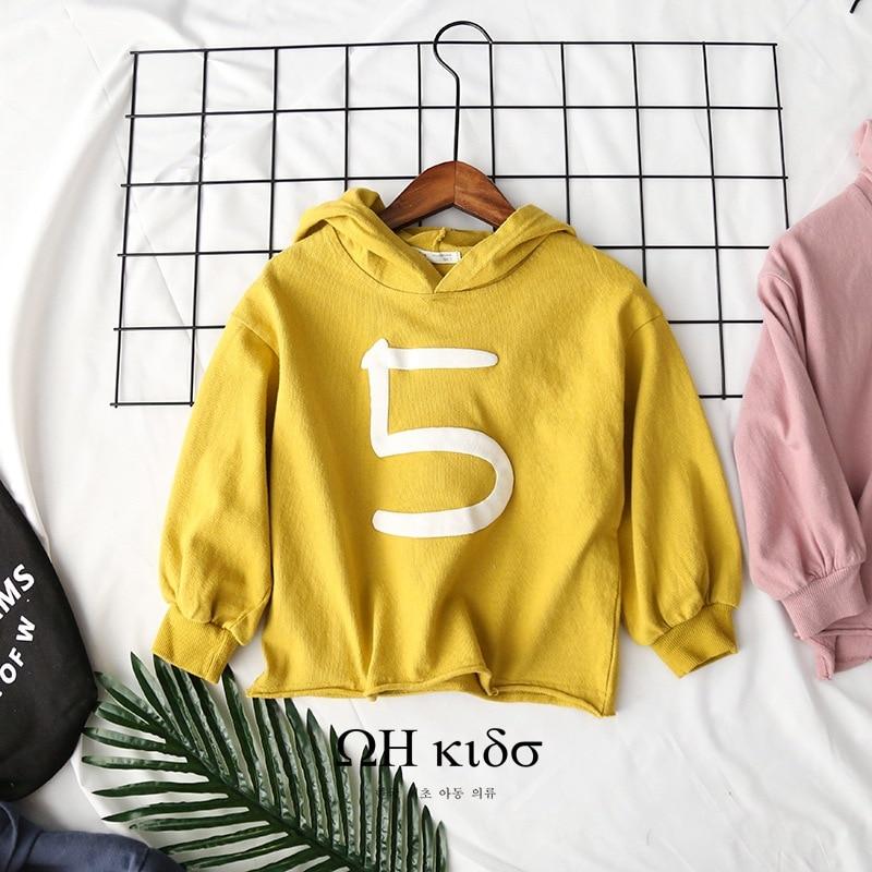 d728f4c93496 2018 Wholesale Baby Girls Boys Printed Hoodies Kids Girl Cotton Full Sleeve  Sweatshirts
