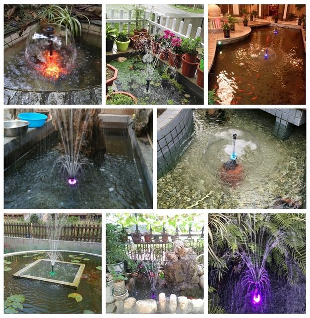 Garden Pond Led Water Pump
