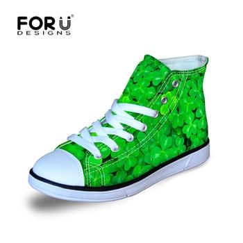 FORUDESIGNS Kids Canvas Shoe for Children Kid Boys Girls High Top Walking Running Jumping Summer Sneakers Shoes 2018 New Design