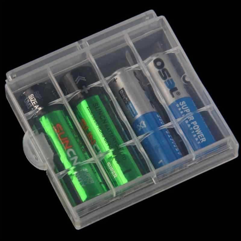 Водостойкие Пластиковые батареи Контейнер сумка чехол AA/AAA батарея коробка для хранения Организатор Box Case