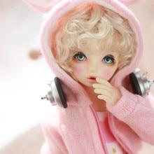 Новинка! Кукольные парики для детского сада кудрявые волосы имитация мохера доступны для 1/6 1/4 1/3 BJD аксессуары для кукол SD