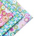 2016 Novo Estilo Floral Retalhos de Algodão Trimestres de Gordura Tecido Patchwork Costura Tecido Têxtil Para A Roupa Do Cão Sacos de 40x50 cm J-3-17