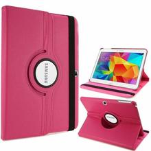 360 Degree Rotating PU Leather Flip Cover Case For Samsung Galaxy Tab 4 10.1 SM-T530 T531 T535 10.1inch Tablet Smart Stand Cover стоимость