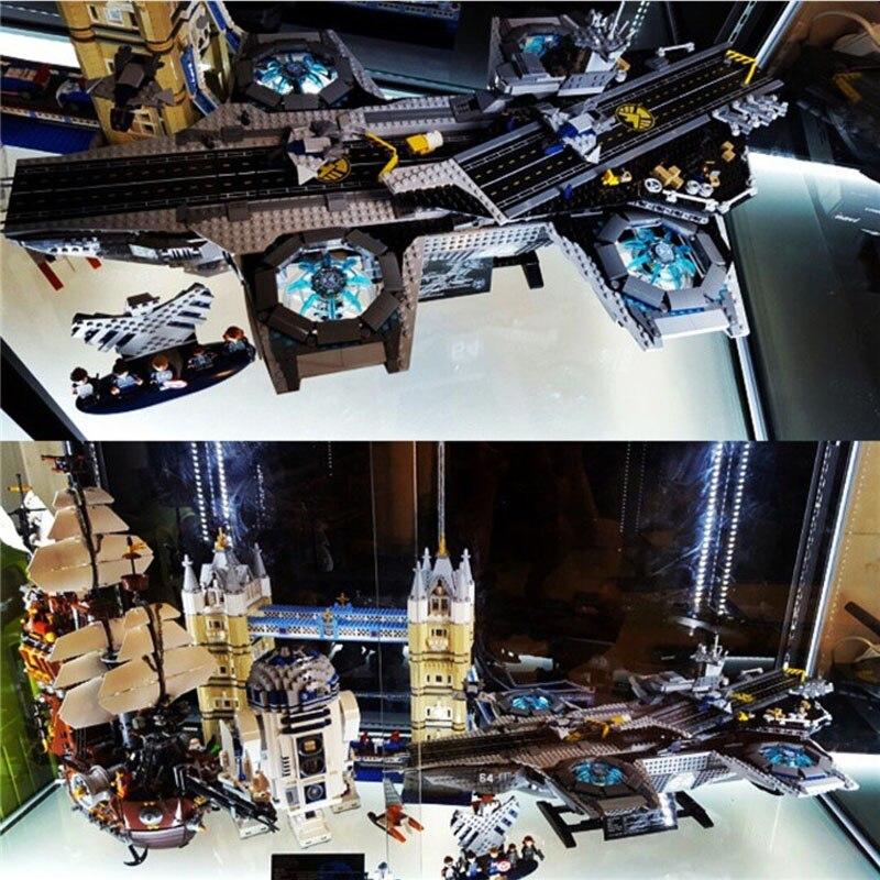 87025 3057 STUKS Super Heroes De Shield Helicarrier Compatibel 07043 76042 Model Building Kits Bakstenen Blokken Speelgoed Voor Kinderen-in Blokken van Speelgoed & Hobbies op  Groep 3