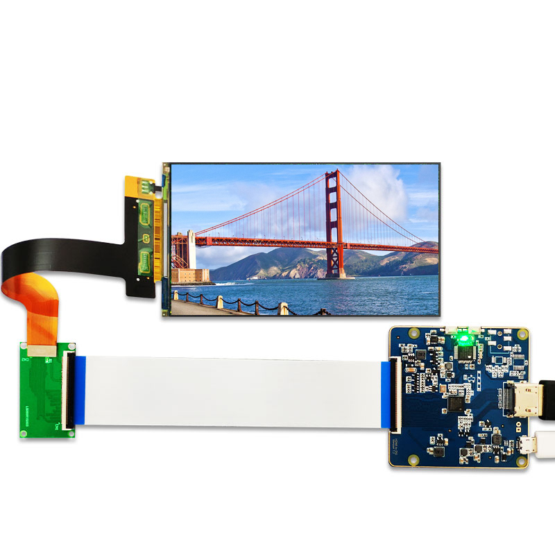 MIPI display 5.5 inch 2K LCD module 2560x1440 LS055R1SX03 light curing display photon screen for vr lcd 3d printer projector(China)