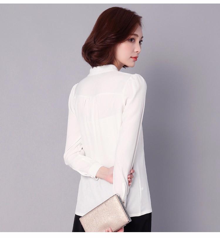 HTB16AlRLpXXXXaKaXXXq6xXFXXXR - Long Sleeve Elegant Ladies Office Shirts Fashion Casual Slim Women