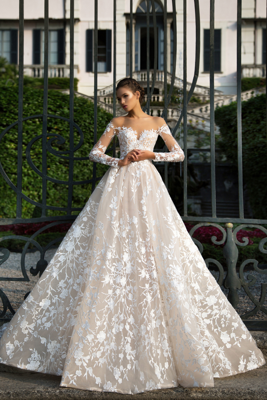 Wedding Gown with Sleeves